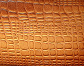 Brown leather texture with patterns — Stock Photo