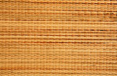Brown wicker matting texture — Stock Photo