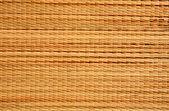 Brown wicker matting texture — Stock Photo