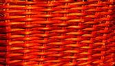 Splot tekstura rattanu w słońcu — Zdjęcie stockowe