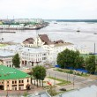 General view of Nizhny Novgorod in june — Stockfoto #11332023