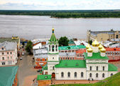 Summer view Church Nativity John Precursor Nizhny Novgorod — Stock Photo