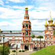 July view Stroganov Church Nizhny Novgorod Russia — Stock Photo #11441915