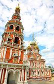 Stroganov kyrkan Nizjnij novgorod — Stockfoto