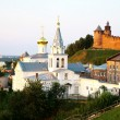 Stock Photo: July view Church of Elijah Prophet Nizhny Novgorod Russia
