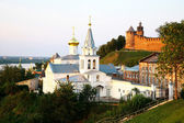 July view Church of Elijah the Prophet Nizhny Novgorod Russia — Stock Photo