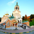 John Baptist Church and Kremlin Nizhny Novgorod Russia — Stock Photo