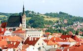 Summer view of Cesky Krumlov Czech Republic — 图库照片