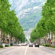 Cours Jean Jaures Grenoble France - Stock Photo