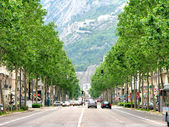 Cours Jean Jaures Grenoble France — Stock Photo