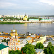 Nizhny Novgorod cityscape in morning of july — Stock Photo #11818440