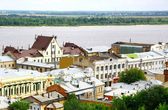 Oldest historical part of Nizhny Novgorod Russia — Stock Photo