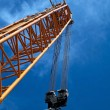 Crane in shipyard — Stock Photo