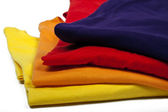 Barevná trička — Stock fotografie