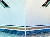 Челн круизное судно — Стоковое фото