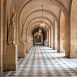 Stock Photo: Corridor of palace of Versailles in Paris