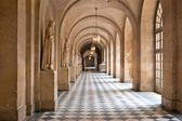 The corridor of the palace of Versailles in Paris — Stock Photo