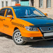 Stock Photo: Car taxis