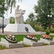 Stock Photo: Memorial eternal glory in Kozelsk