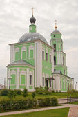 Church of the Descent of the Holy Spirit in Kozielsk — Stock Photo