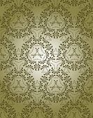 Vektor-doodle hübsch dekorativ — Stockvektor