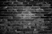 Eski tuğla duvar. — Stok fotoğraf