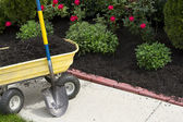 Time to Mulch — Stock Photo