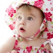 Stunned Baby — Stock Photo