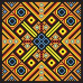 Ethnic mosaic — Stock Vector