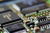 Mikrochips — Stockfoto
