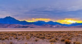 Death Valley Sunset — Stock Photo