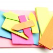 Colored paper for notes — Stock Photo #10762657