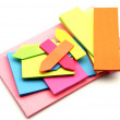 Colored paper for notes — Stock Photo #10762665
