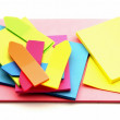 Colored paper for notes — Stock Photo