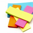 Colored paper for notes — Stock Photo #10762745