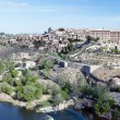 Distant view of the the Spanish city of Toledo — Stock Photo