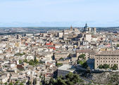 View of the Spanish city of Toledo — Stock Photo
