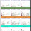 Calendar year 2013 — Stock Photo #10914093
