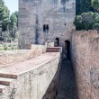 Stock Photo: Moat of Alhambra