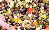 Colored olives — Stock Photo