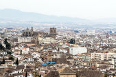 Granada with Cathedral — Stock Photo
