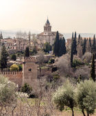 Nasrid monument of the Alhambra — Stock Photo