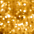 Gold Bokeh Light — Stock Photo