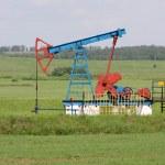 Oil pump. Oil industry equipment. — Stock Photo
