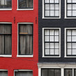 Stock Photo: Dutch house in Amsterdam