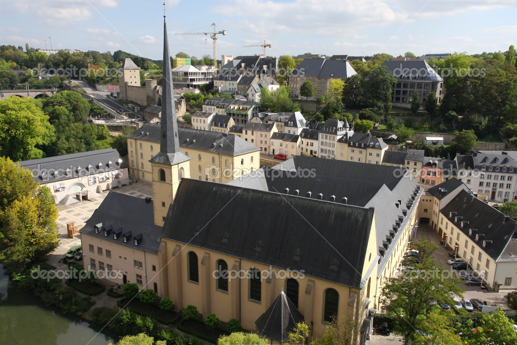 Luxembourg downtown — Stock Photo #10806609