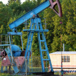 Oil pump jack — Stock Photo #11364540
