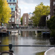 Stock Photo: Channels in Amsterdam