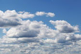 Clouds on blue sky at midday — Stock Photo