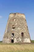 The old windmill ruins — Stock Photo